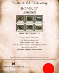 Certificate – Aerial View of Bombay